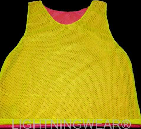 fluorescent pinnies