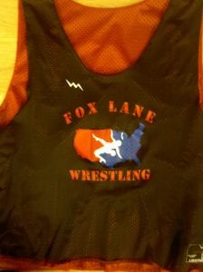 fox lane wrestling pinnies