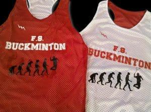 Buckminton Racerback Pinnies