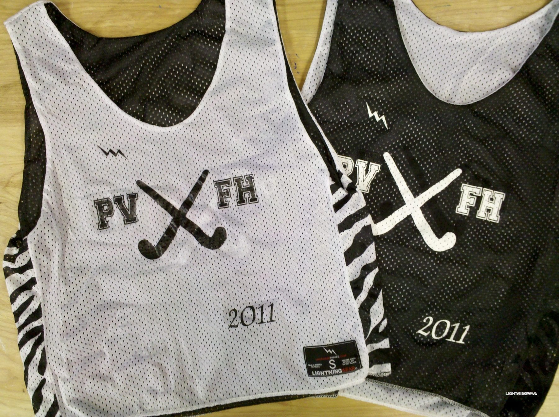 fvfh field hockey pinnies