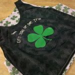 Saint Patricks Day Shamrock Pinnies