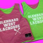 Glenbard West Lacrosse Pinnies