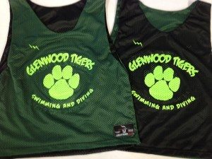 Glenwood Tigers Pinnies