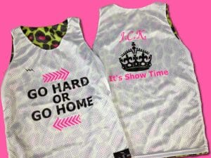 go hard or go home pinnies