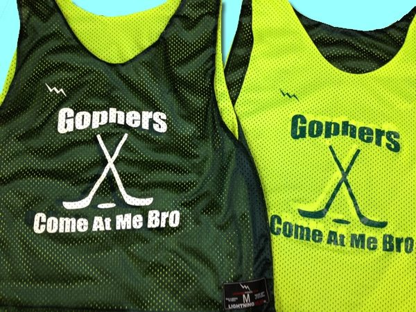 gophers come at me bro pinnies