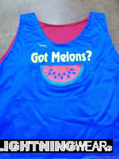 got melons pinnies