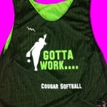 Girls Softball Pinnies