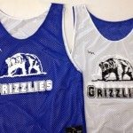 Grizzlies Lacrosse Pinnies