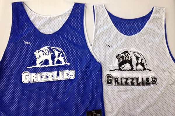 grizzlies pinnies