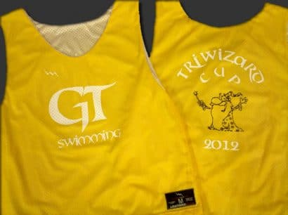 gt swimming pinnies