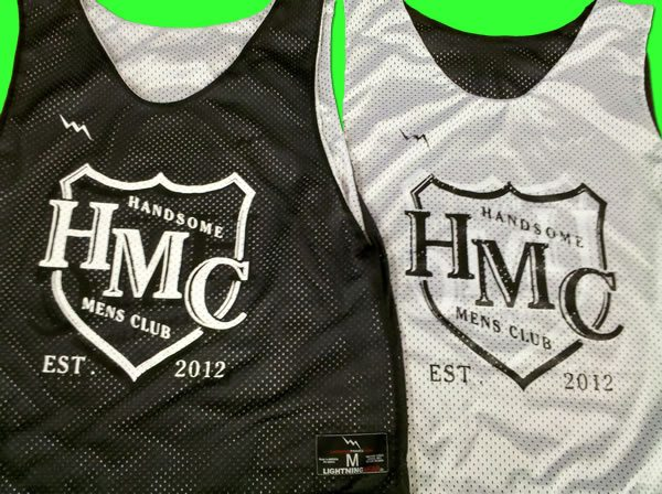 handsome mens club pinnies