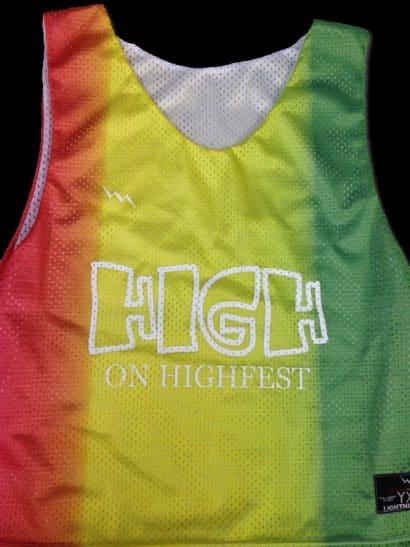 high on highfest pinnies