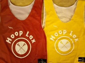hoop lax pinnies