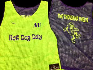 hot dog day pinnies