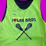 I Love Lax Bros Pinnies