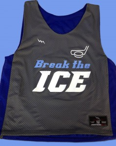 ice hockey pinnies