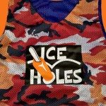 Orange Camouflage Reversible Jerseys