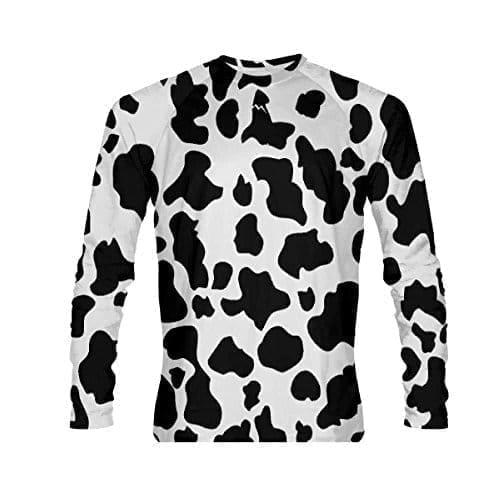 54e8c41c0f Cow Long Sleeve Shirt - Cow Print Shirts - Cow Shirts Animal Print