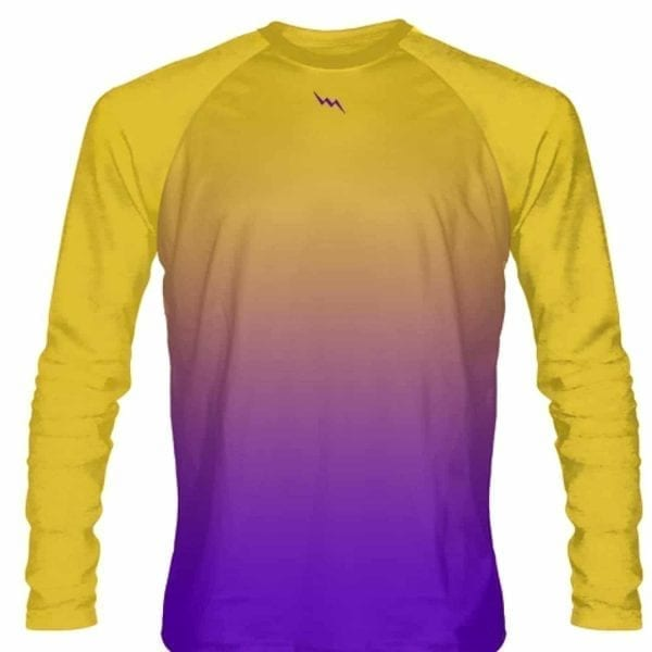 Gold-Purple-Fade-Ombre-Long-Sleeve-Shirts-Basketball-Long-Sleeve-Shirt-Adult-Youth-Gold-Purple-Basketball-Shirts-G-B0787PY4R2