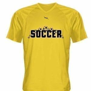 watch 26b9b d0cd0 Gold Soccer Jerseys V Neck - Custom V Neck Soccer Jerseys