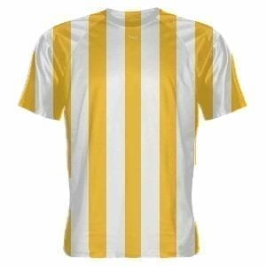 Gold-and-White-Striped-Soccer-Jerseys-Youth-Soccer-Shirts-Adult-Soccer-Shirts-B078NJTYQ3