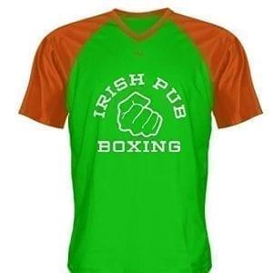 Irish-Pub-Boxing-T-Shirt-Green-Orange-V-Neck-B0796XQYRC