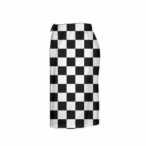 LightningWear-Black-Checker-Board-Shorts-Black-Checkerboard-Lacrosse-Shorts-Athletic-Shorts-B077XYZ1ZS-4