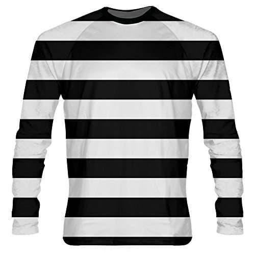 LightningWear-Black-Striped-Long-Sleeve-Shirts-B076ZPYRFV