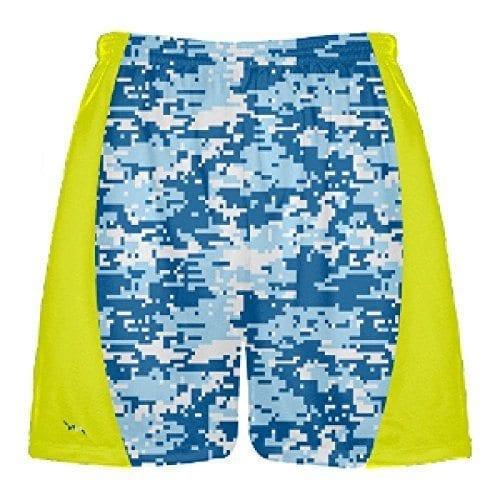 b6bd5a21fb2 LightningWear Blue Digital Camouflage Lacrosse Shorts - Lacrosse ...