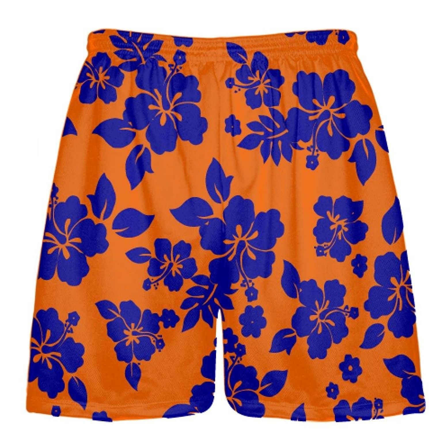 LightningWear-Blue-Orange-Hawaiian-Shorts-Accent-B0797BLZ82