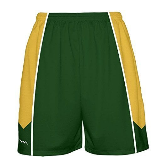 0b6368b380d670 LightningWear Dark Green Basketball Shorts - Dark Green Basketball ...