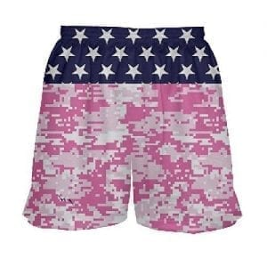 LightningWear-Girls-Lacrosse-Shorts-Stars-and-Pink-Camo-B0795RRKVJ
