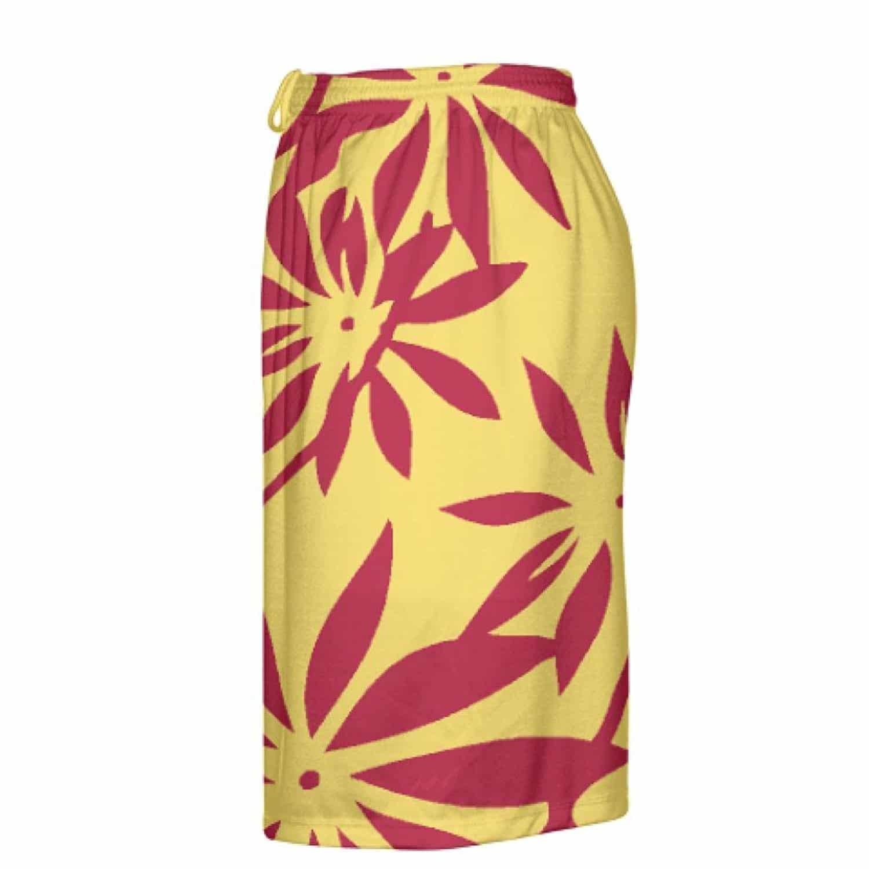 LightningWear-Gold-Red-Hawaiian-Lacrosse-Shorts-Hawaiian-Basketball-Shorts-B078VXY846-3