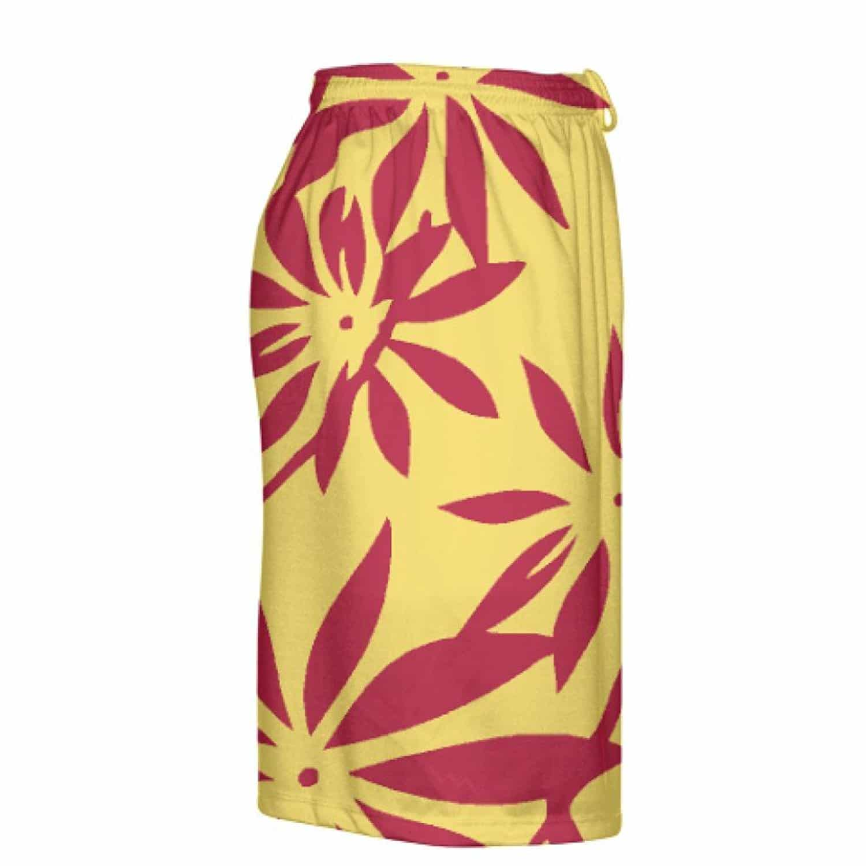 LightningWear-Gold-Red-Hawaiian-Lacrosse-Shorts-Hawaiian-Basketball-Shorts-B078VXY846-4