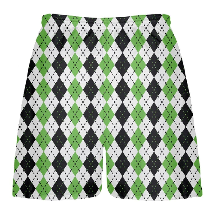 LightningWear-Green-Argyle-Lacrosse-Shorts-B078M9N4VZ-2