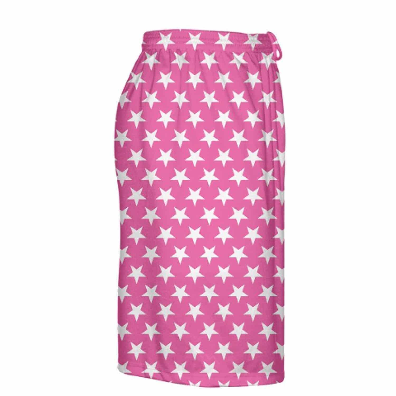LightningWear-Hot-Pink-White-Stars-Shorts-Athletic-Shorts-Sublimated-Shorts-B078T715V6-4