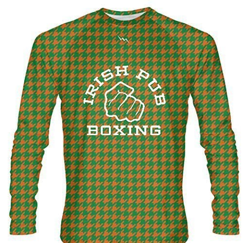 LightningWear-Irish-Pub-Boxing-Long-Sleeve-Shirt-Houndstooth-B0796XY7DP