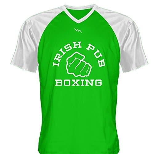 LightningWear-Irish-Pub-Boxing-T-Shirt-Green-V-Neck-B0796YFQKT