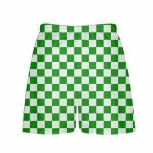 LightningWear-Kelly-Green-Checker-Board-Shorts-Green-Checkerboard-Lacrosse-Shorts-Athletic-Shorts-B077Y3WF45-2