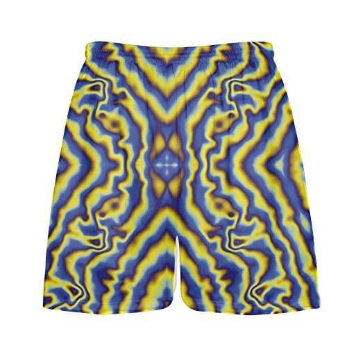 Lacrosse Shorts Psycho Print Custom Lax Shorts