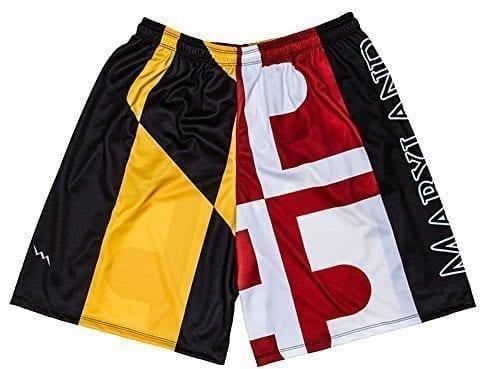 LightningWear-Maryland-Flag-Shorts-MD-Flag-Shorts-B076X9PCCP