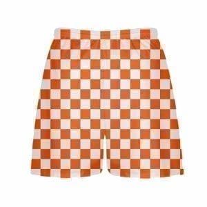 LightningWear-Orange-Checker-Board-Shorts-Orange-Checkerboard-Lacrosse-Shorts-Athletic-Shorts-B077Y3BMVH-2