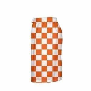 LightningWear-Orange-Checker-Board-Shorts-Orange-Checkerboard-Lacrosse-Shorts-Athletic-Shorts-B077Y3BMVH-4