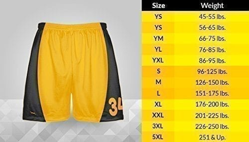 LightningWear-Orange-Checker-Board-Shorts-Orange-Checkerboard-Lacrosse-Shorts-Athletic-Shorts-B077Y3BMVH-6