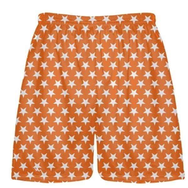 LightningWear-Orange-White-Stars-Shorts-Sublimated-Shorts-B078T8B3Q1