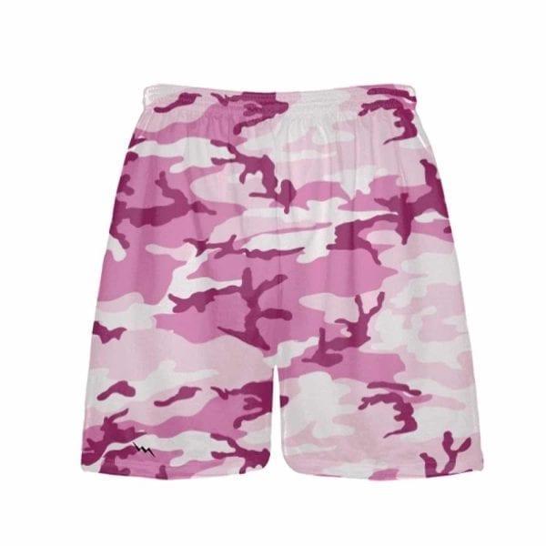 LightningWear-Pink-Camouflage-Shorts-Athletic-Shorts-Pink-Camo-Lacrosse-Shorts-B078D6MWFK
