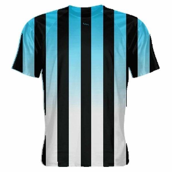 LightningWear Powder Blue and Black Soccer Jerseys - Mens Soccer Shirts b981c28b3