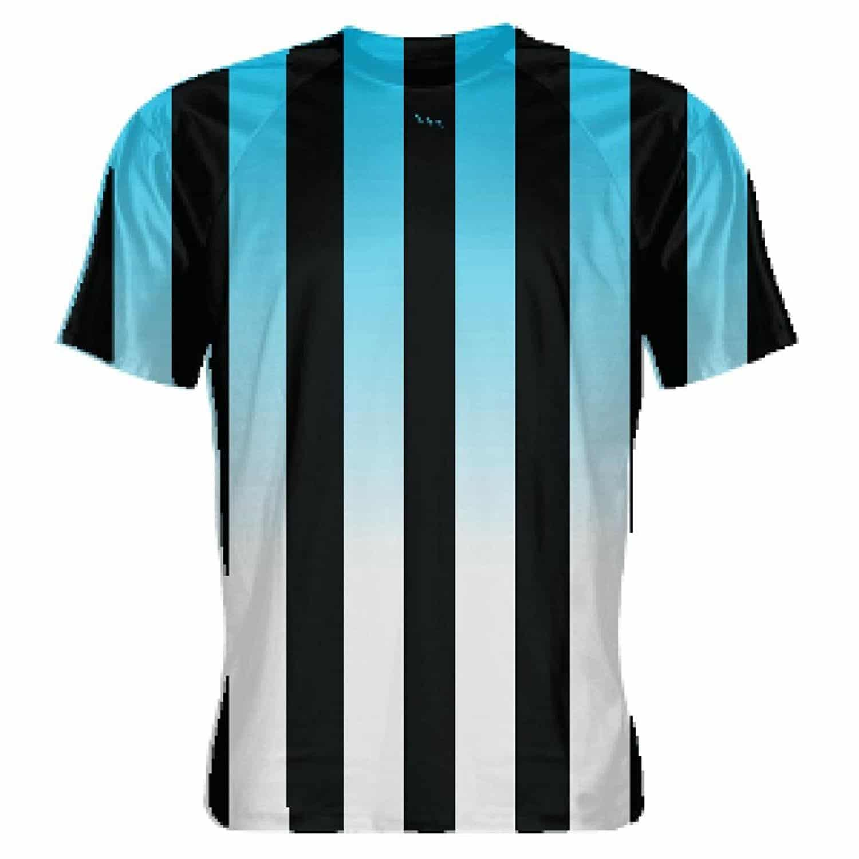 huge selection of 56d5a 7dd31 LightningWear Powder Blue and Black Soccer Jerseys - Mens Soccer Shirts
