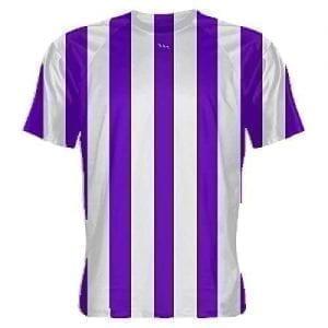 LightningWear-Purple-and-White-Striped-Soccer-Jerseys-B078NDSFL4