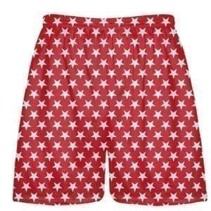 LightningWear-Red-White-Stars-Shorts-Boys-Lacrosse-Shorts-Sublimated-Shorts-B078T3PJMP